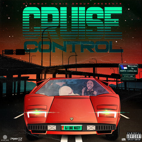 DJ Luke Nasty - Cruise Control (CD)