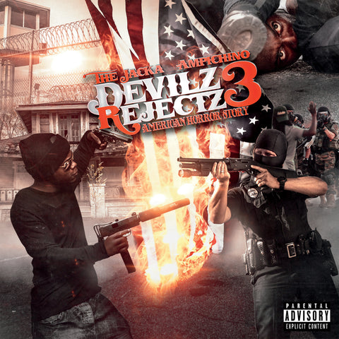 The Jacka & Ampchino - Devilz Rejectz 3 (CD)