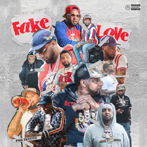 Philthy Rich - Fake Love (CD)