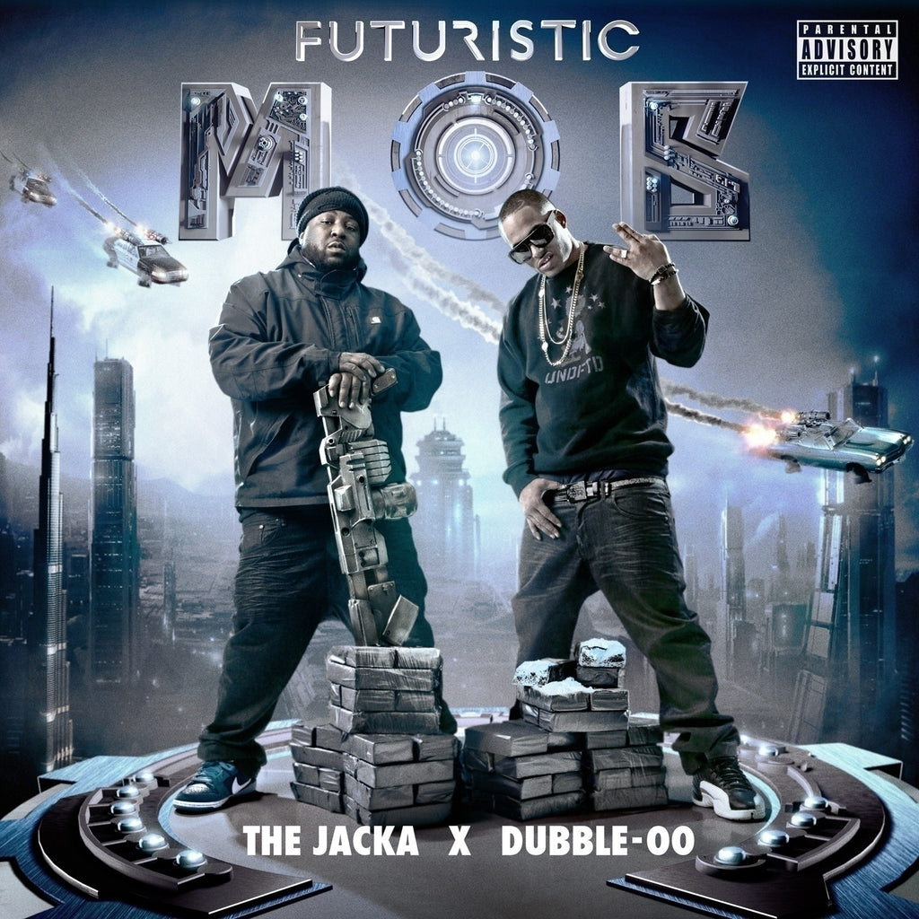 The Jacka & Dubble-OO - Futuristic Mob CD