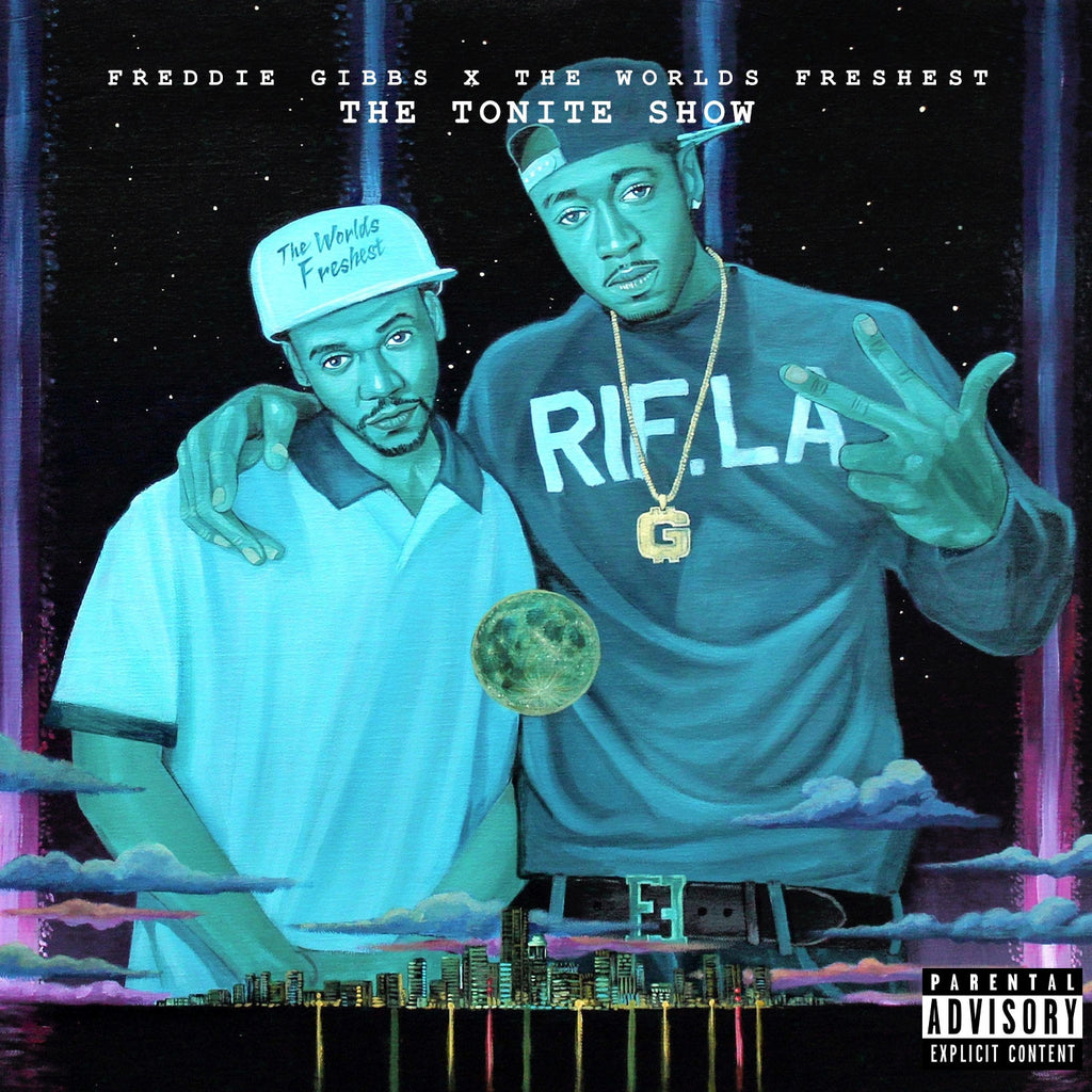 Freddie Gibbs & The Worlds Freshest - The Tonite Show CD