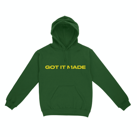 Kamaiyah - Got It Made - Oakland Green Hoodie (Pre-Order)