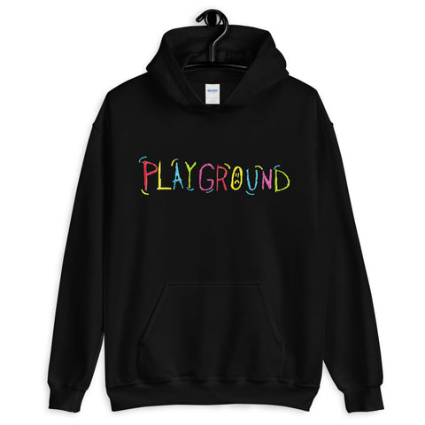 Sad Frosty- Black Playground Hoodie + Digital Download