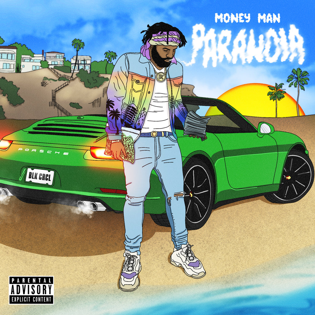 Money Man - Paranoia (CD)