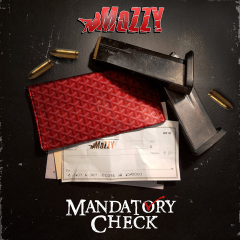 Mozzy - Mandatory Check Autographed CD