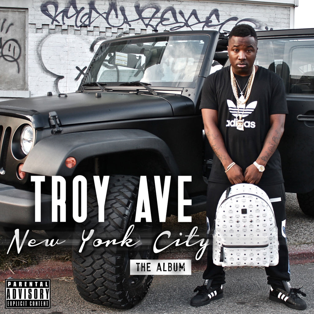 Troy Ave - New York City CD