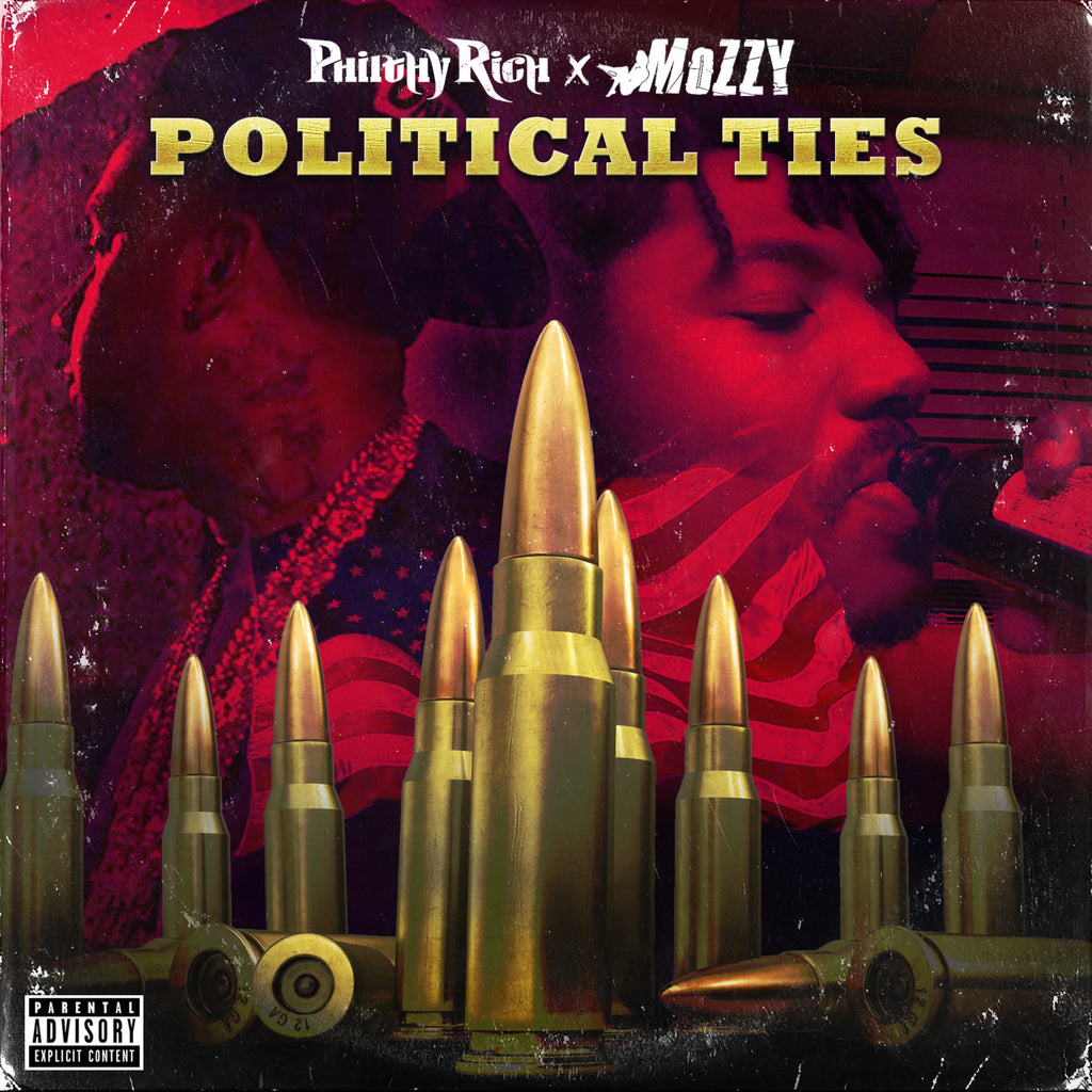 Philthy Rich & Mozzy - Political Ties CD