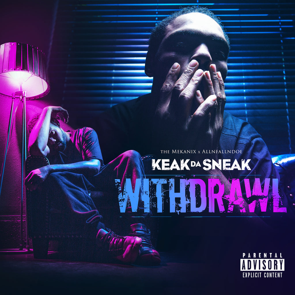 Keak Da Sneak - Withdrawal (CD)