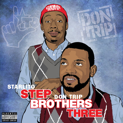 Starlito & Don Trip - STEP BROTHERS THREE CD