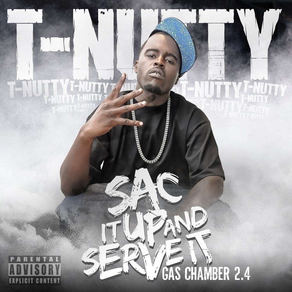 T-Nutty - Sac It Up and Serve It CD