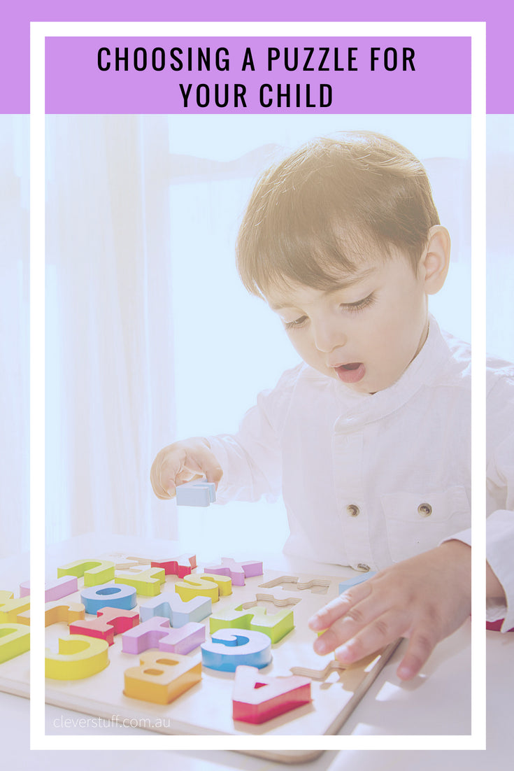 How to Choose a Puzzle for your Child [VIDEO]