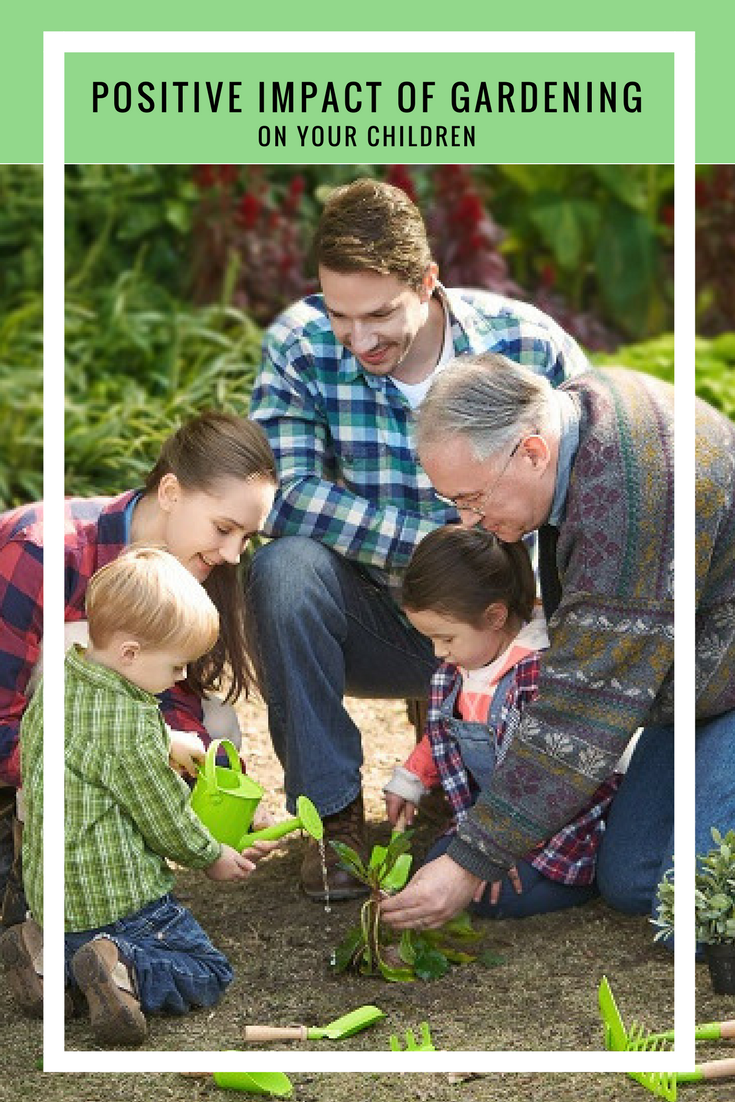 Positive ways in which gardening affects your child