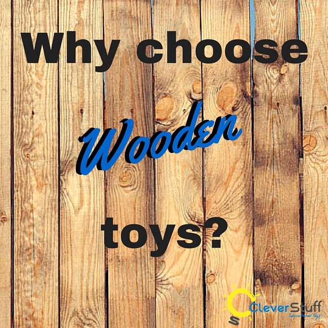 7 reasons we LOVE wooden toys!