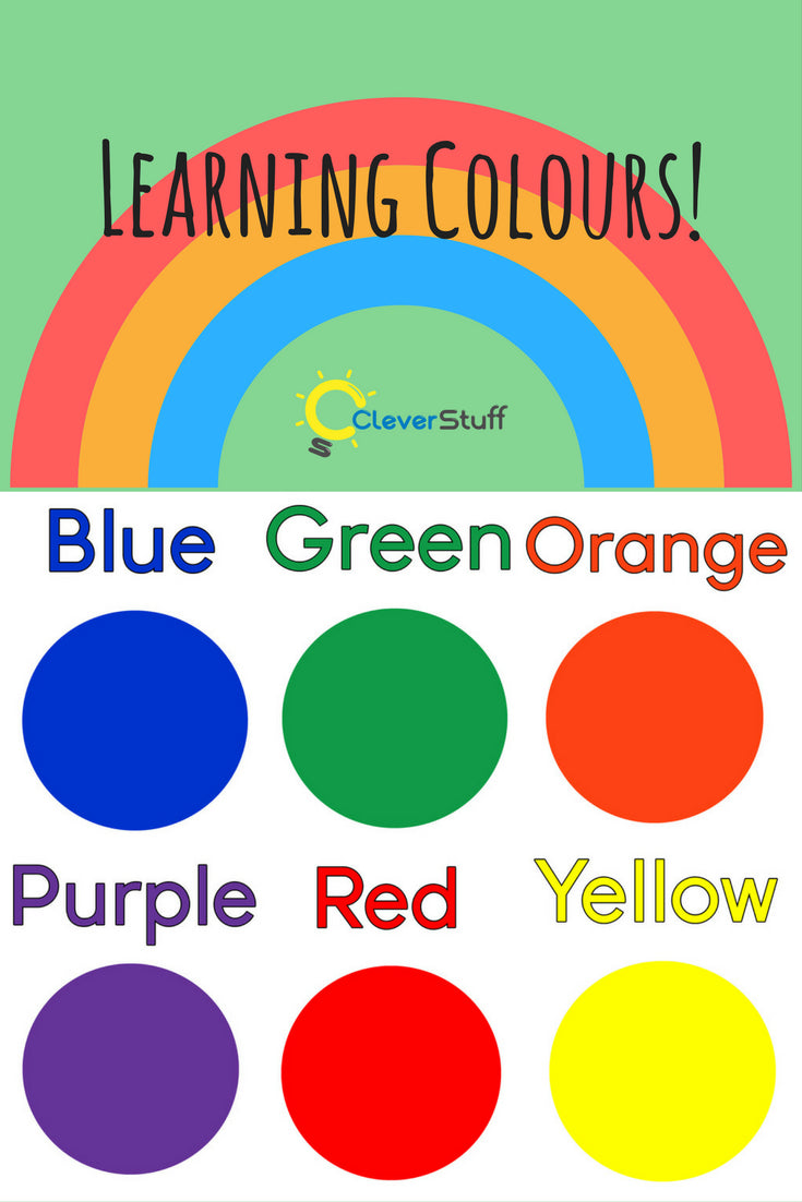 learning colours cleverstuff