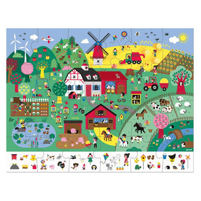 Observation Farm Jigsaw Puzzle - 24 piece