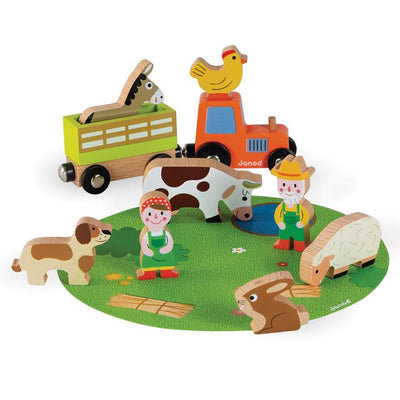 Farm Story Play Set
