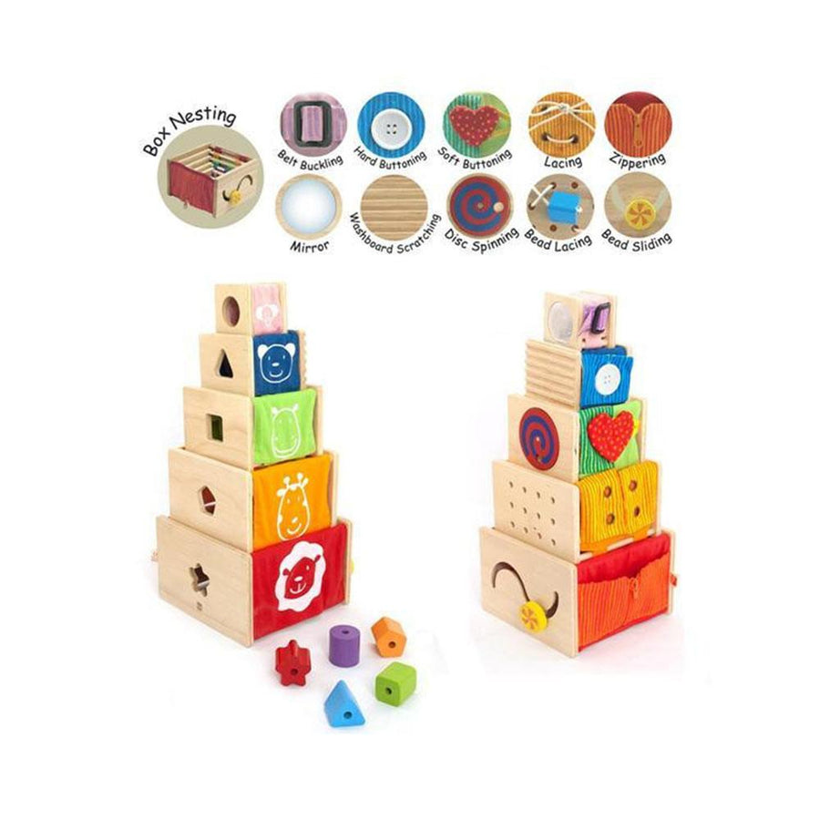Im Toy - 5 Activity Stackers - CleverStuff