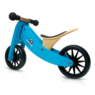 Wooden Tiny Tot Trike - Blue