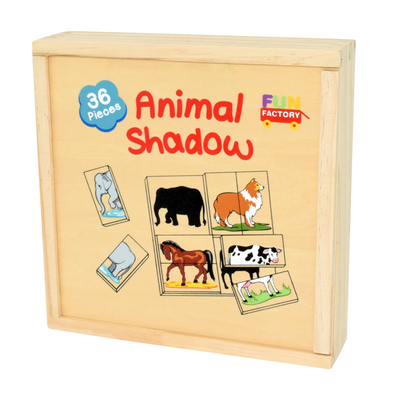 Animal Shadow Match