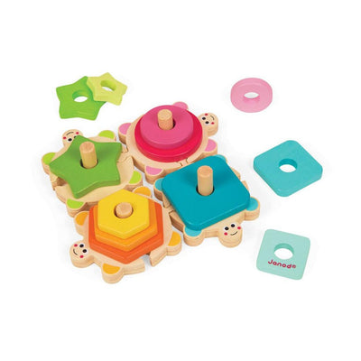 Turtle Stacking Puzzle