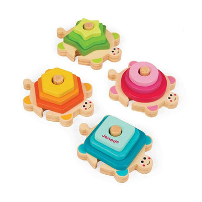 Janod - Turtle Stacking Puzzle - CleverStuff