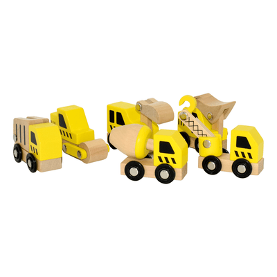 Construction Vehicles - Set of 6
