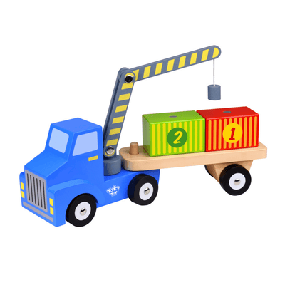 Magnetic Container Truck