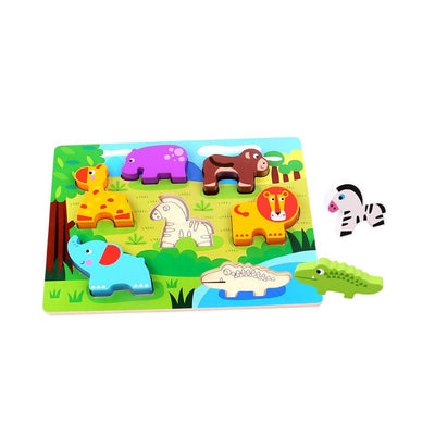 Tooky Toy - Chunky Animal Puzzle - CleverStuff