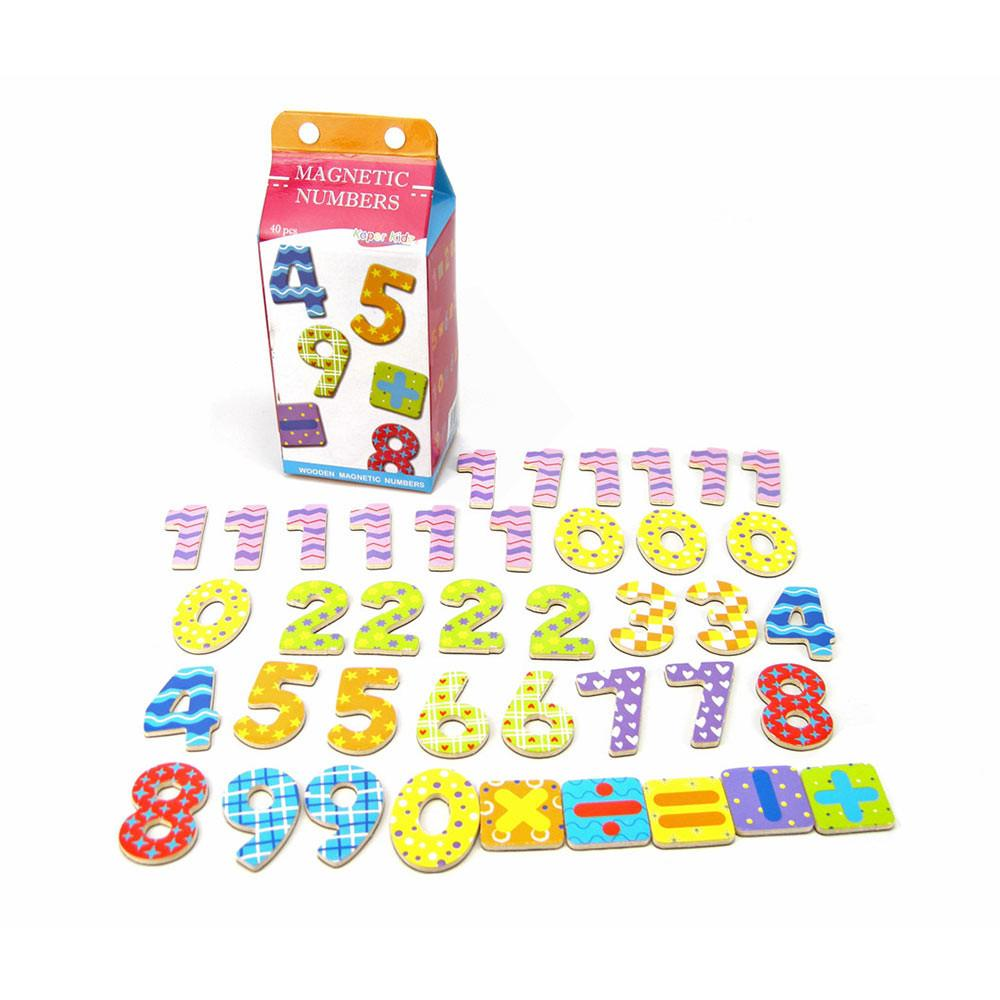 Kaper Kidz - Magnetic Numbers in a Milk Carton - CleverStuff