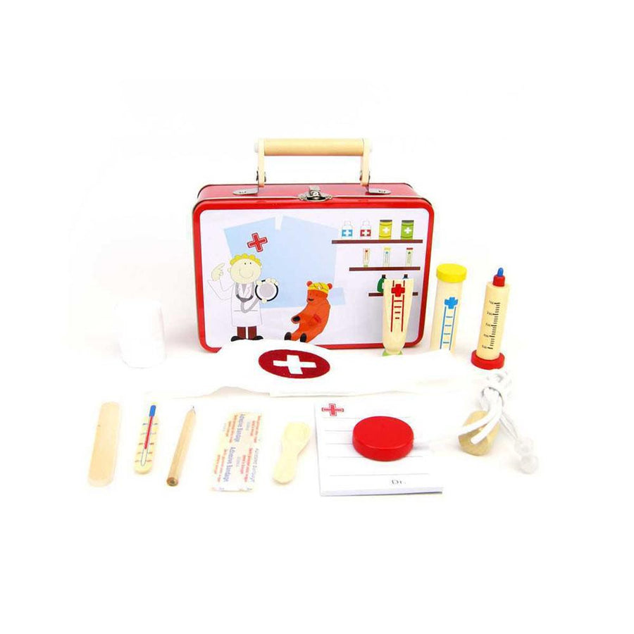 Doctor Play Set in Tin Case