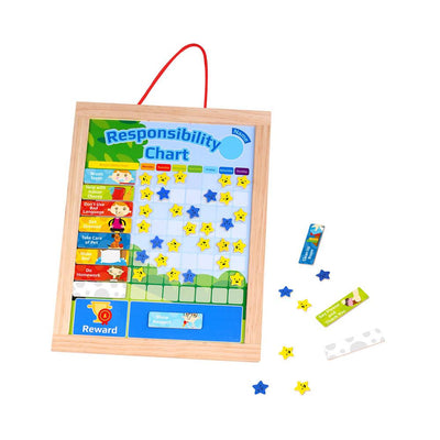 Tooky Toy - Magnetic Responsibility Chart - CleverStuff