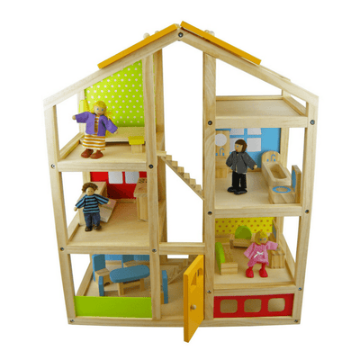 Colourful Wooden Doll House