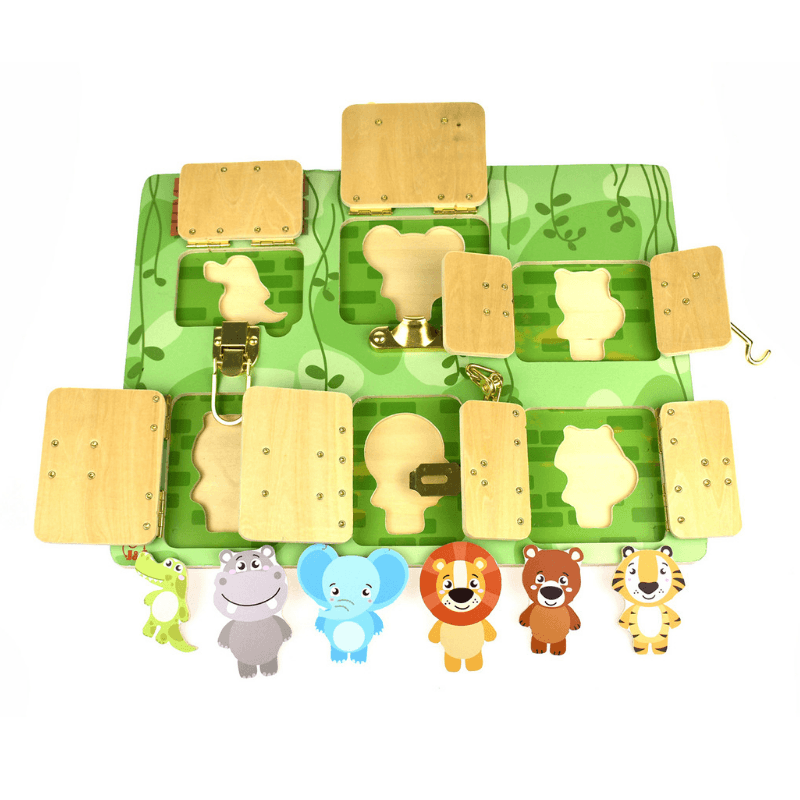 Latching Puzzle - Zoo