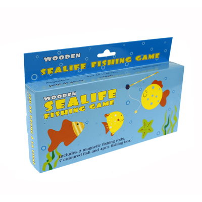 Magnetic Fishing Game with Colourful Fish