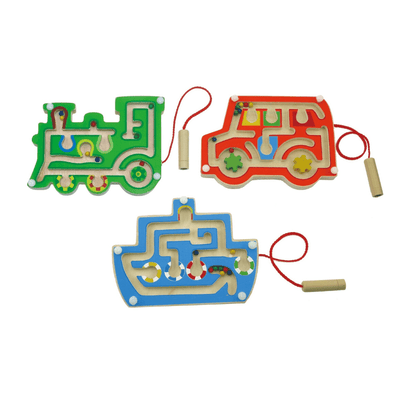 Magnetic Transport Maze