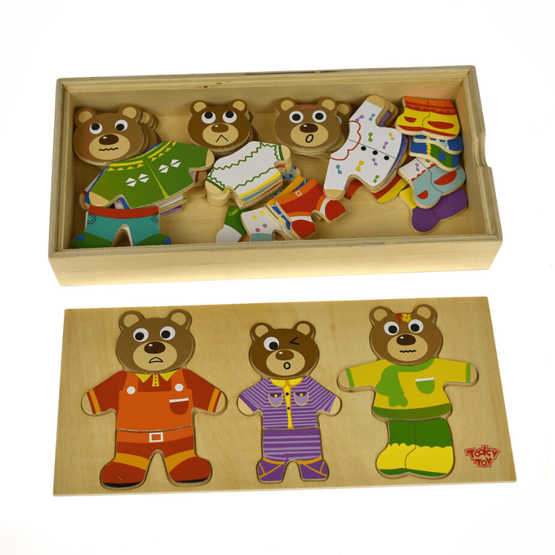 Dressing Bear Family