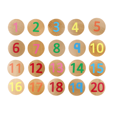 Numbers Matching Pairs - 40 pieces