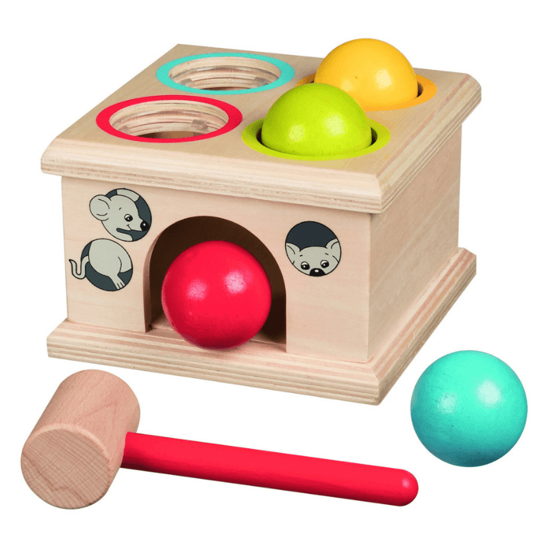 Mouse House Hammering Balls