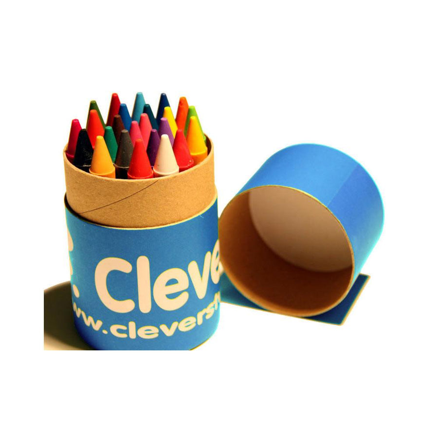 CleverStuff - Tube of Crayons 24 - CleverStuff