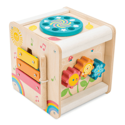 Le Toy Van - Wooden Petit Activity Cube - CleverStuff