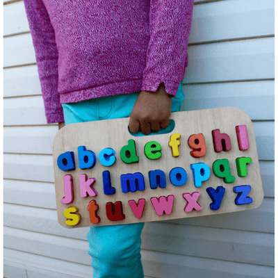 Kiddie Connect - Carry Around Lower Case Letters - CleverStuff