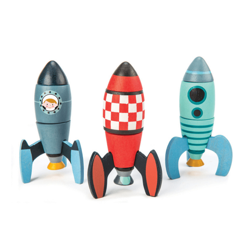 Rocket Construction Set - 18 Pieces