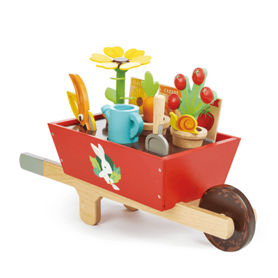 Wheelbarrow Garden Set