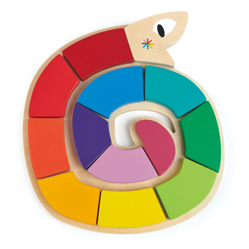 Colourful Worm Shape Puzzle