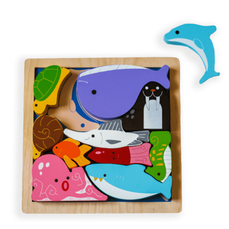 Animals in the Ocean Chunky Puzzle
