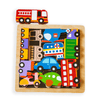 Vehicles in the City Chunky Puzzle