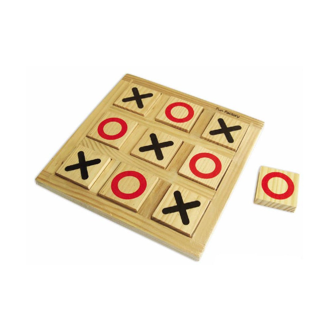 Fun Factory - Wooden Noughts & Crosses - CleverStuff