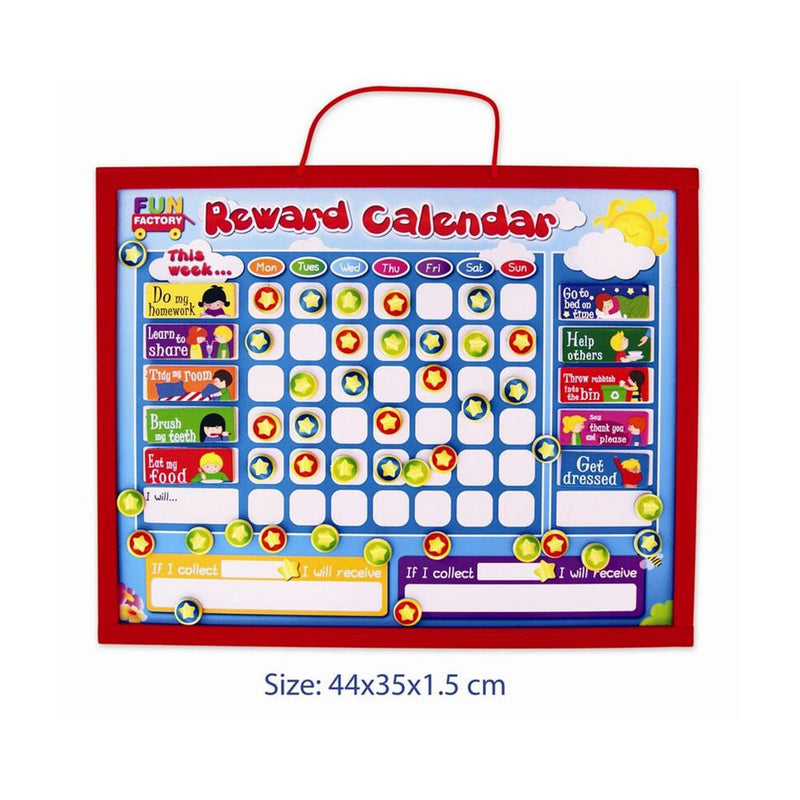 Fun Factory - Magnetic Reward Calendar - CleverStuff