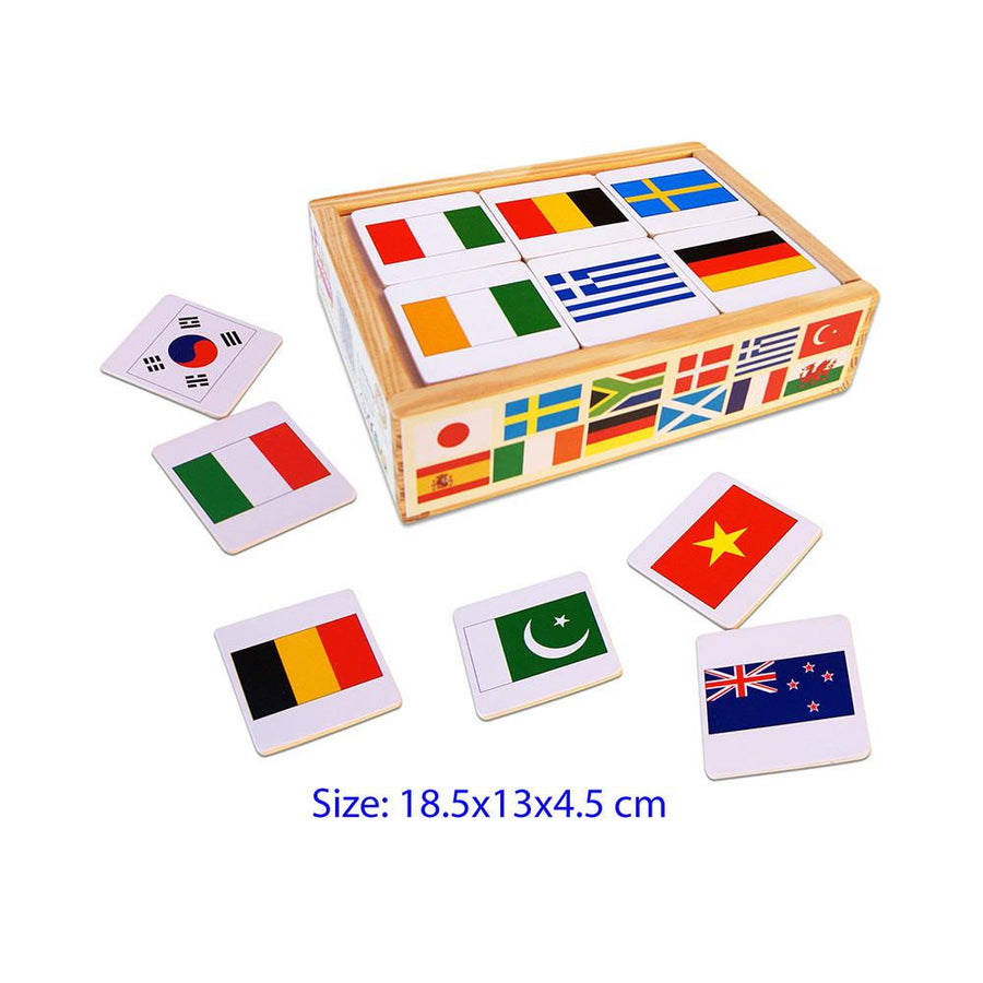 Fun Factory - Flags of the World - Memory Game - CleverStuff