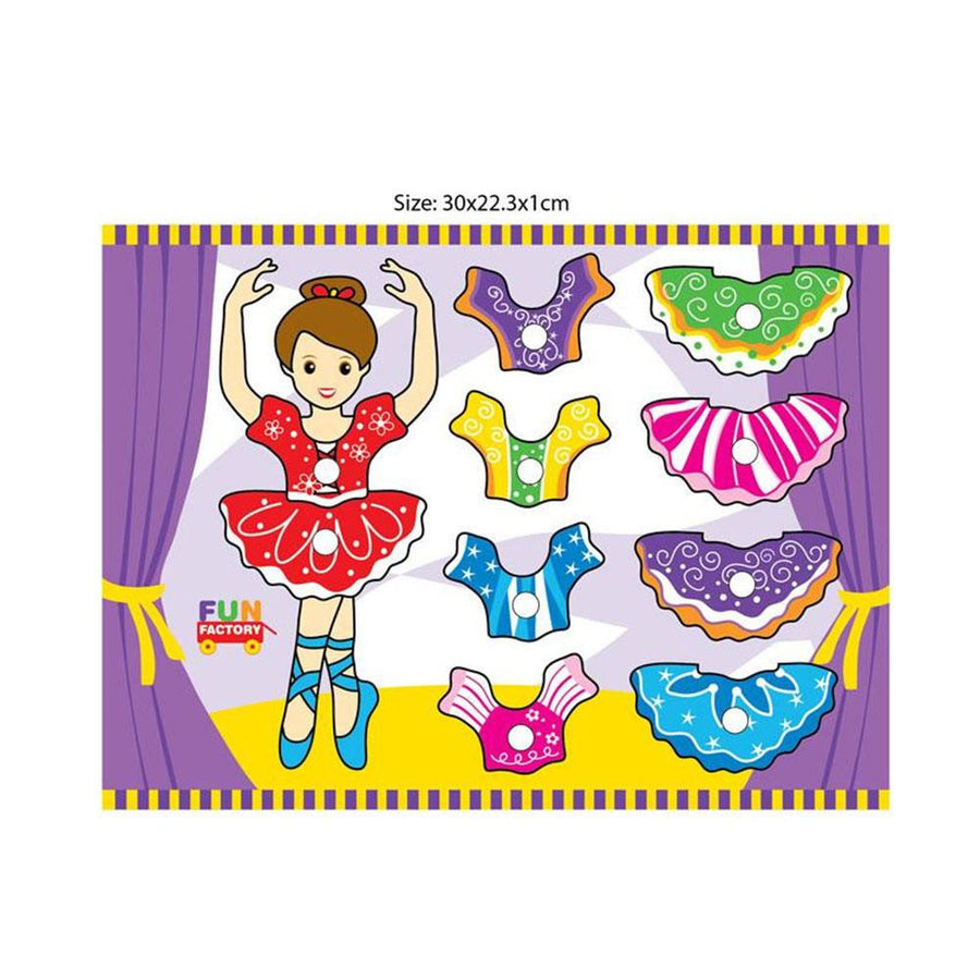 Ballerina Mix n Match Puzzle